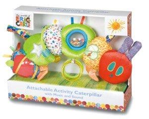 生後7ヶ月 知育玩具 日本育児 エリック・カール はらぺこあおむし デラックスアクティビティ