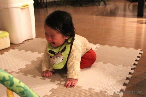 赤ちゃん 泣く 後追い