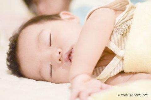 坂上家 赤ちゃん 寝顔