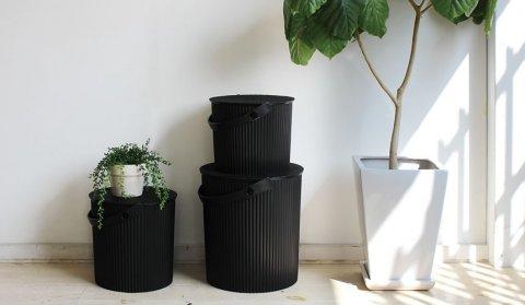 オムニウッティ おむつ用ゴミ箱 デザイン