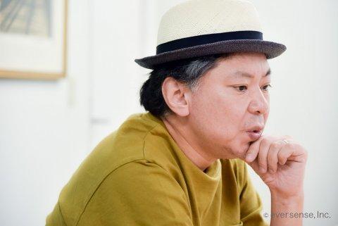 鈴木おさむ氏 ママにはなれないパパ インタビュー風景06 eversense