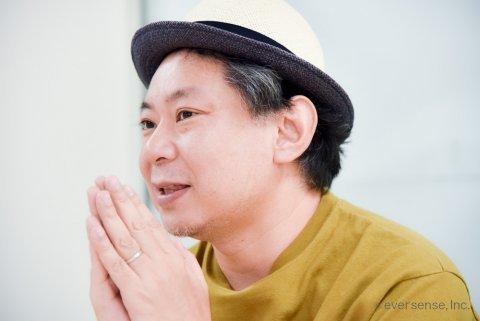 鈴木おさむ氏 ママにはなれないパパ インタビュー風景08 eversense