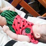 赤ちゃん 寝顔 夏