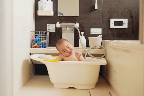 nicoddon11さん 4人育児 ママ お風呂
