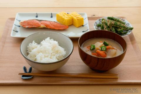 和食 魚 野菜 根菜