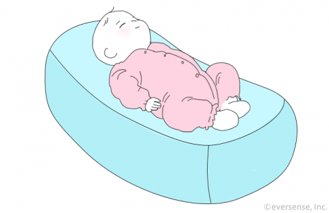 授乳クッション おすすめ  Cカーブ イラスト