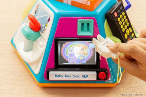 知育玩具 いたずら1歳 やりたい放題 コンセント