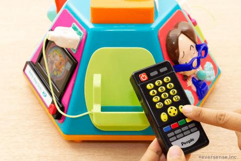 知育玩具 いたずら1歳 やりたい放題 リモコン