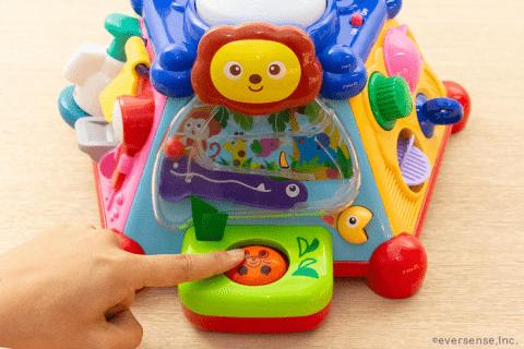 1歳 知育玩具 たのしく知育! やみつきボックス もぐらたたき