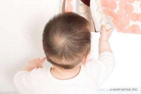赤ちゃん 頭 髪
