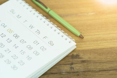 予定表 カレンダー スケジュール