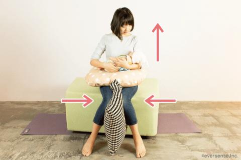 授乳しながら内転筋を鍛える 産後 骨盤矯正