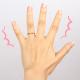 むくみ 産後 指