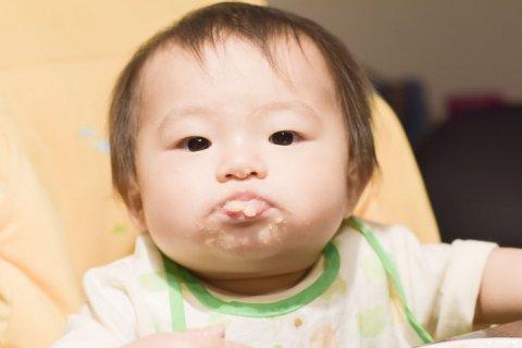 赤ちゃん 離乳食 スタイ