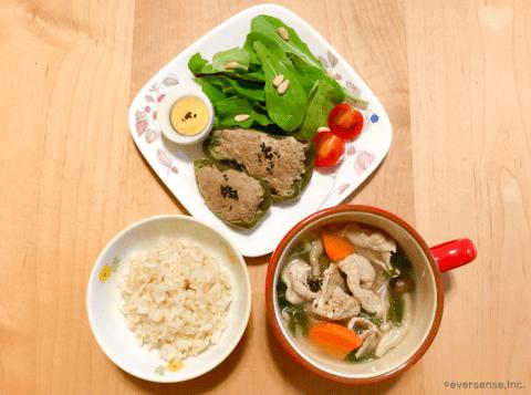 産後ダイエット,RIZAP MAMA,朝食,メニュー