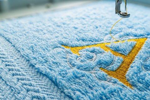 タオル 刺繍