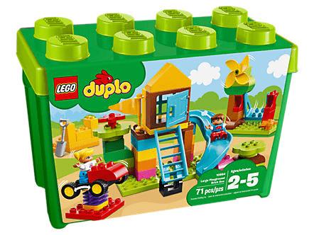 要出典 ブロック レゴ デュプロ みどりのコンテナスーパーデラックス おおきなこうえん