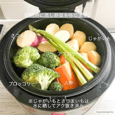 離乳食 ストック 野菜 Mina