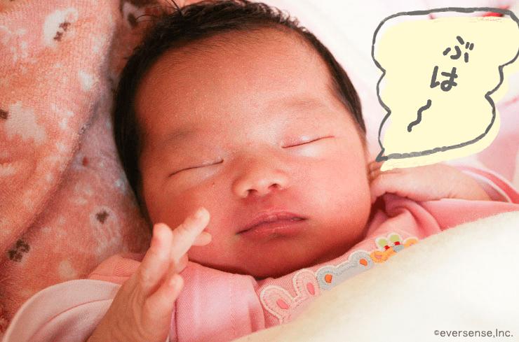 新生児 いびきかく