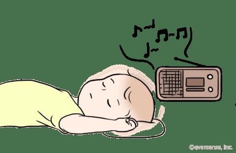 赤ちゃん 夜泣き 対処 音楽