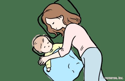 赤ちゃん 夜泣き 寝不足 添い寝