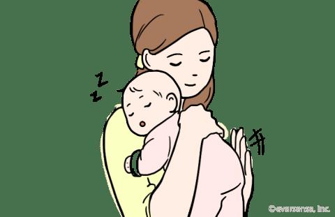 赤ちゃん 夜泣き 原因 抱っこ 寝かしつけ