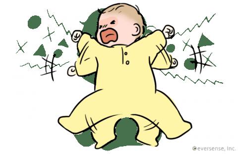 赤ちゃん 夜泣き 原因