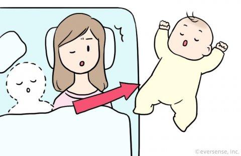 赤ちゃん 寝相 悪い びっくりエピソード