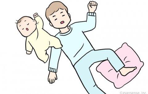 赤ちゃん 寝相 悪い ほっこりエピソード