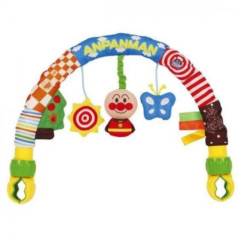 要出典 チャイルドシートおもちゃ バンダイ べビラボ アンパンマン とにかくどこでもジムメリー