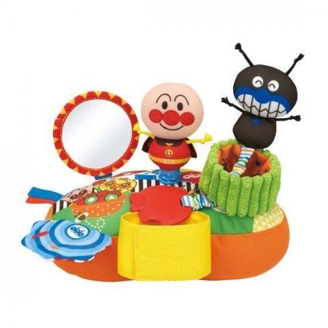 要出典 チャイルドシートのおもちゃ バンダイ ベビラボ アンパンマン どこでも!ニコニコあそボード