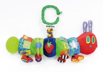 要出典 チャイルドシートのおもちゃ 日本育児 エリック・カール はらぺこあおむし ハンギングトイ
