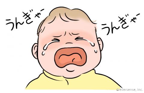 赤ちゃん 泣く 理由 顔くしゃくしゃで泣く
