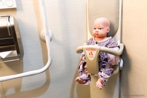 赤ちゃん お座り 人形 トイレ ベビーチェア