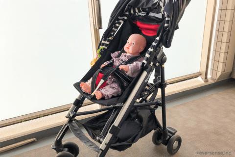 赤ちゃん お座り 人形 ベビーカー