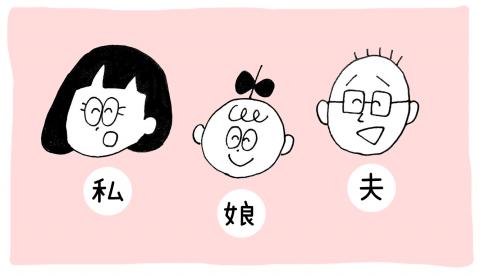 オカザキワカコ  育児漫画 インスタ twitter ほっこり育児オカザキ家 登場人物