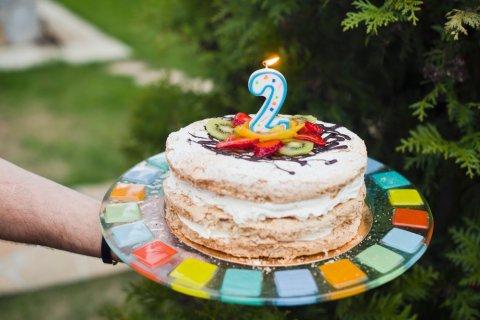 誕生日ケーキ 2歳