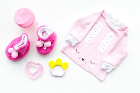 赤ちゃん 服 ピンク
