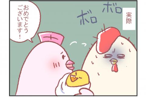 鳥谷丁子のオモテ育児・ウラ育児#8「初対面の感想」 連載8