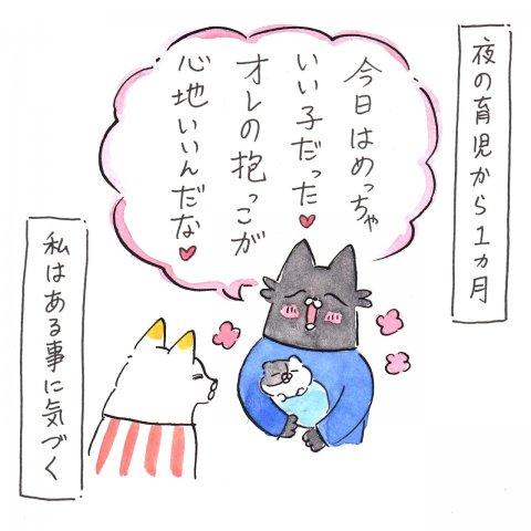 育児漫画 Anri 猫かわいがりラプソディー 4話