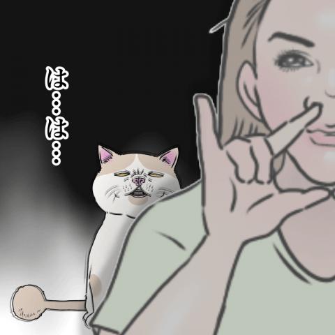 ムチコ ほっこりしない猫と育児 3話