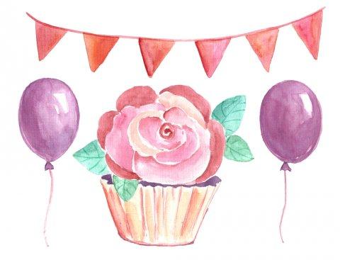 ケーキ おめでとう