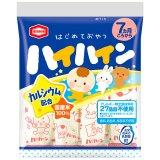 要出典 ベビー向け部門 ベビー用おやつ ランキング 亀田製菓 ハイハイン