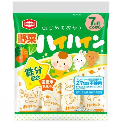 要出典 ベビー向け部門 ベビー用おやつ ランキング 亀田製菓 野菜 ハイハイン