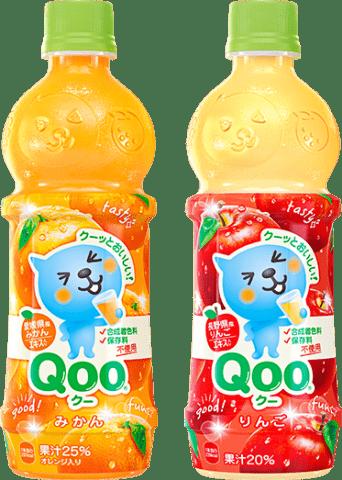 要出典 キッズ向け部門 自販機やコンビニで買える子ども向けの飲料 ランキング コカ・コーラ ミニッツメイド Qooシリーズ
