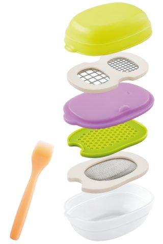 要出典 ベビー向け部門 離乳食調理器具 ランキング 離乳食調理セット コンビ ベビーレーベル 離乳食ナビゲート調理セットC