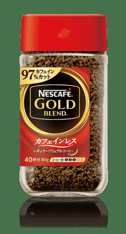 要出典 ノンカフェインドリンク ゴールドブレンド カフェインレス/ネスカフェ
