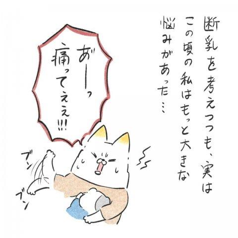 育児漫画 Anri 猫かわいがりラプソディー 9話