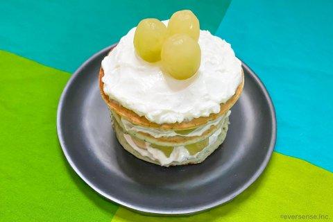 1歳 誕生日ケーキ レシピ バースデーホットケーキ