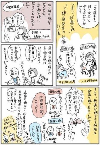 せるこさん 出産レポ1話2